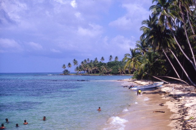 Little Corn Island.
