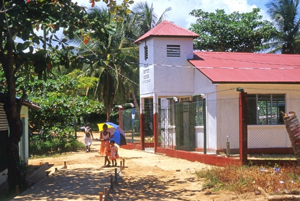 The Baptist Church, Little Corn Island.