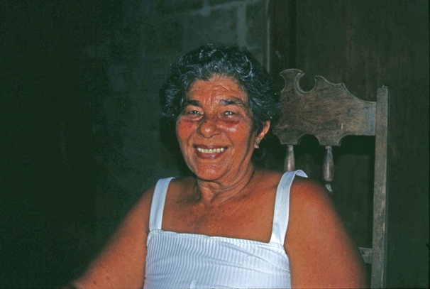 "Miss Lucy: ""My father didn't have any property in Corn Island. That's why he became a fisherman."""